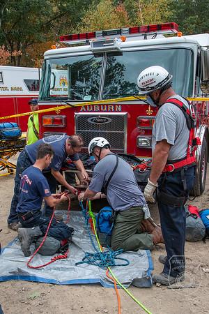 Tech Rescue - Leland Hill Rd, Sutton, MA - 9/29/2020
