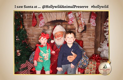 Hollywild Santa Photos - 121219