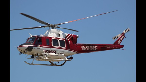 Bell 412 Fire Rescue