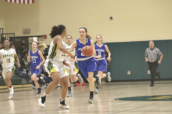 Wahconah vs. Taconic girls basketball - 021219