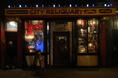 City Reliquary, Brooklyn