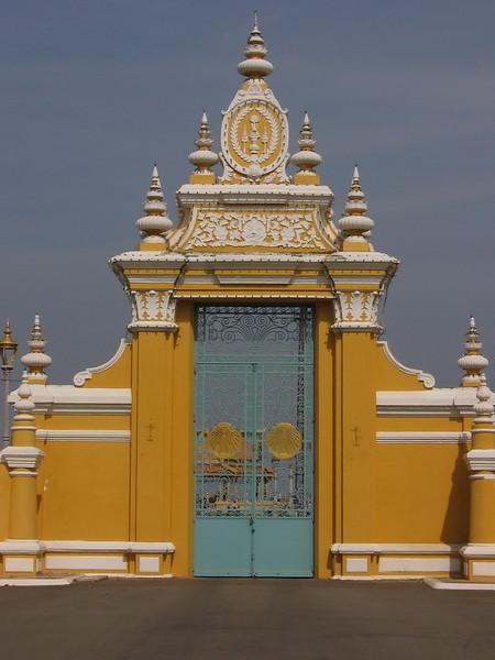 Grand Palace gate.