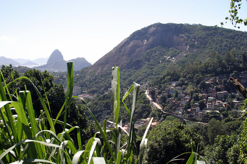 The walk is not short..Corcovado Panorama and getting there. 2004