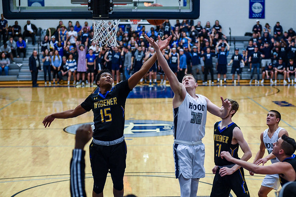 Hood v Widener - Men's Basketball 02.21.19