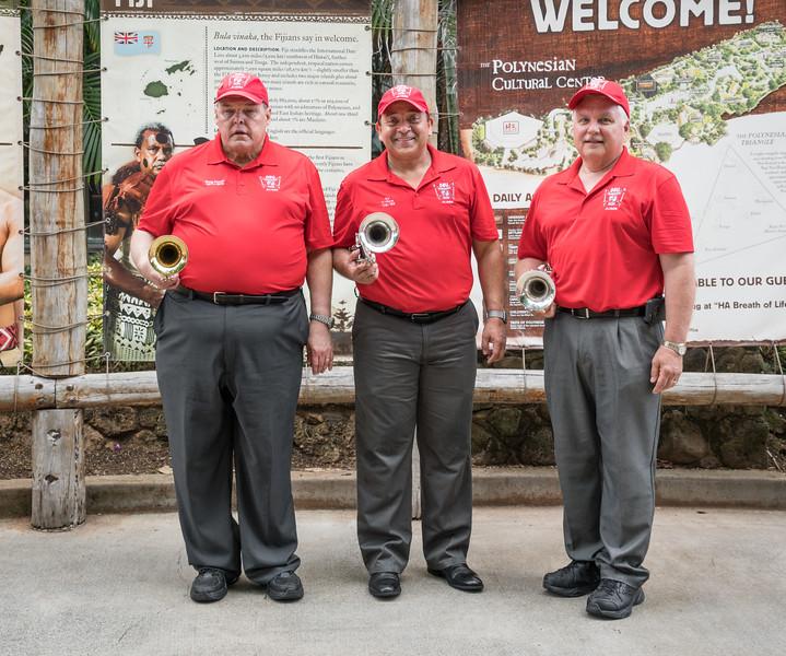 Three Trumpeteers