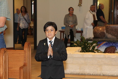 First Holy Communion May 10, 2015 10:00 a.m. Mass