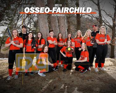 Osseo-Fairchild softball SB19
