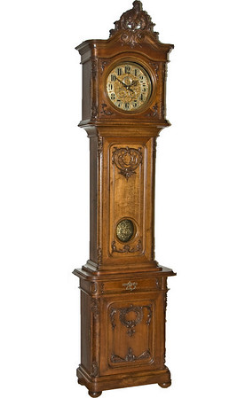 VR-601 Second Baroque Floor Standing Viennese Regulator with Dial Complications