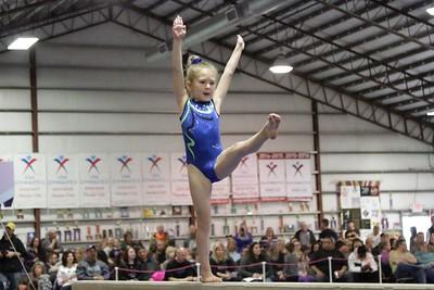 2016 PBM : Session 2 (1/30/16) : Off Limits Gymnastics : Beam