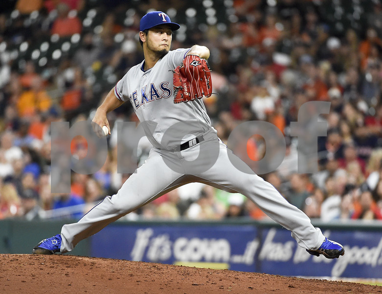 Darvish and Mazara lead Texas Rangers to win over Astros