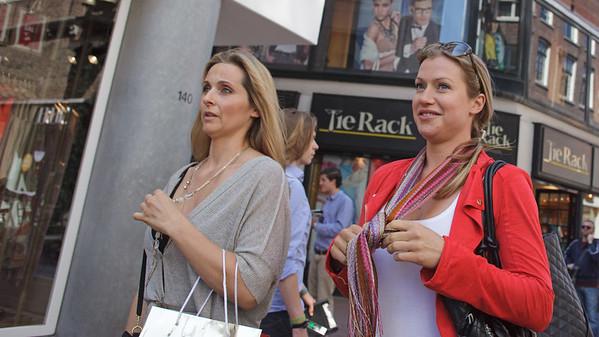 Moeder en dochter shopping