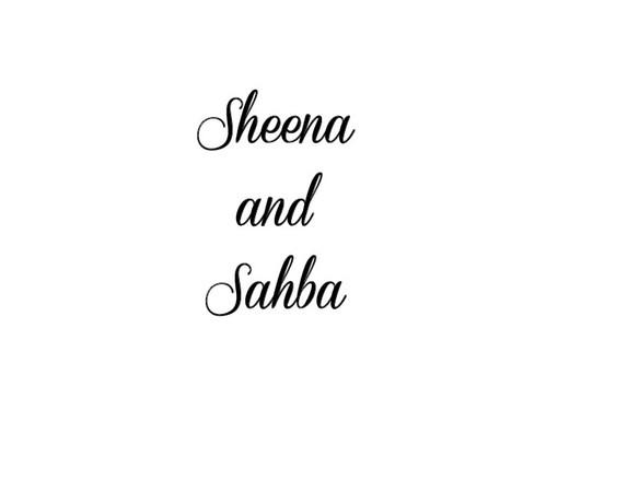 Sheena and Sahba
