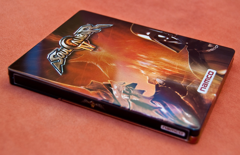 Soul Calibur IV in steel box
