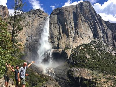 Yosemite Falls: May 12-14, 2018