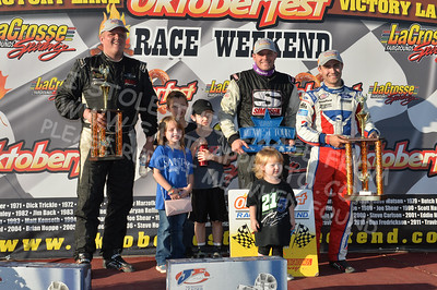 "ARCA Midwest Tour ""Oktoberfest 200"" Victory Lane plus Rookie & Champion"