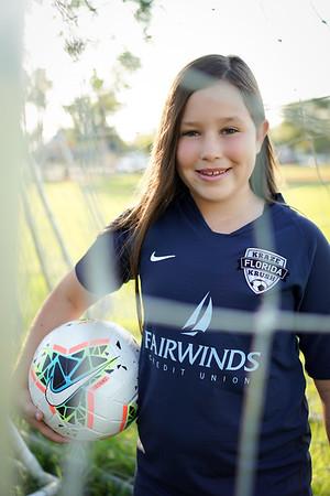 Rachel Soccer Portraits
