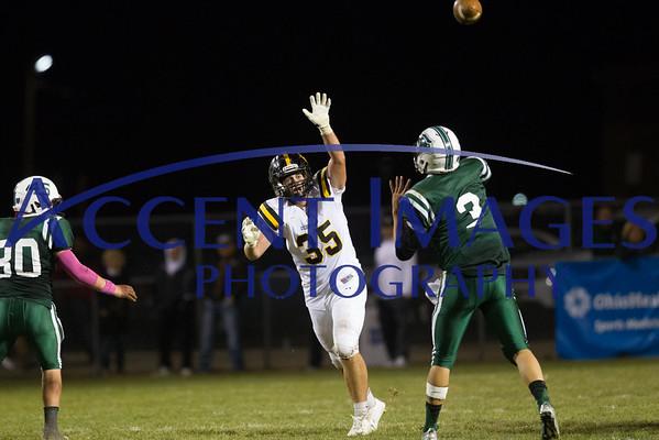 Varsity Football at Westland 10/23/15