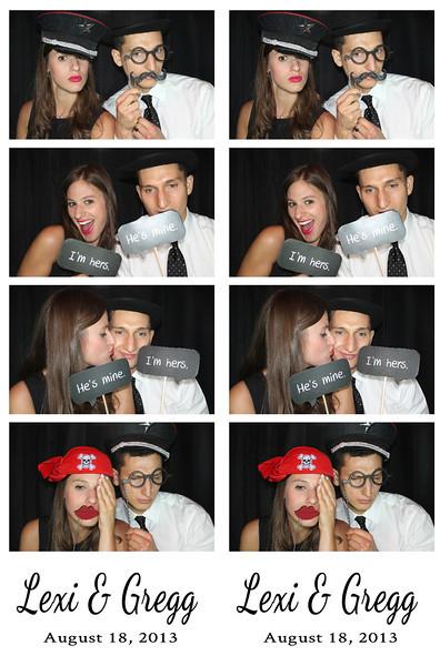 Lexi & Gregg August 18, 2013