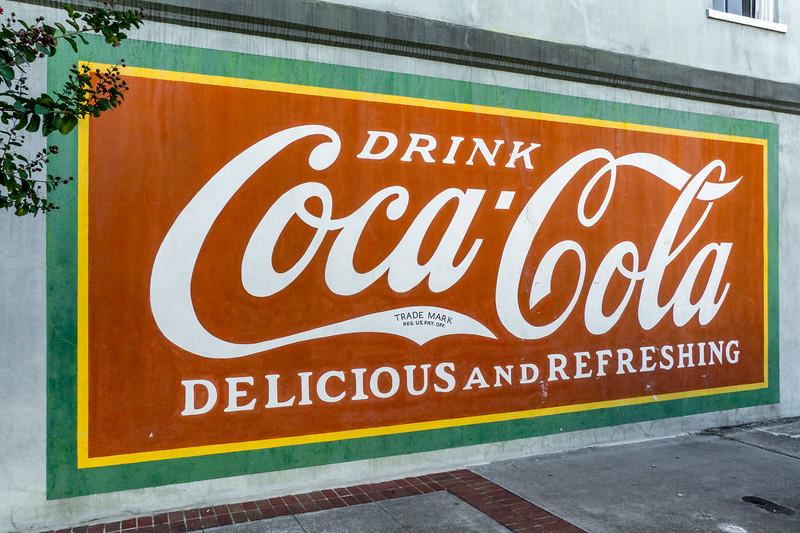 GA, Gainesville - Coca-Cola Wall Sign 02