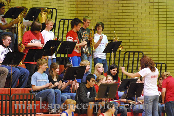 Band Basketball 2009-10