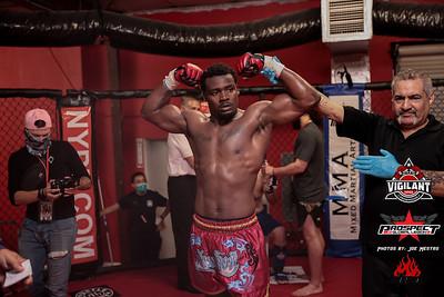 Yan Rugel vs  Jamel Davis (W)