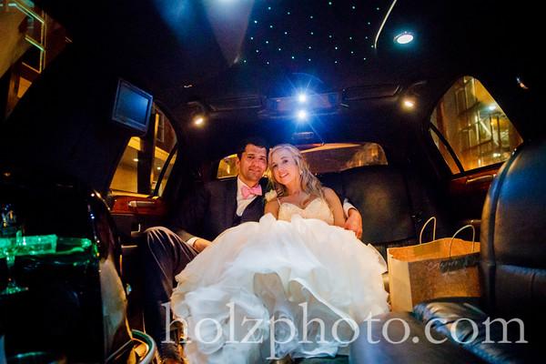 Elizabeth & Jim Color Wedding Photos