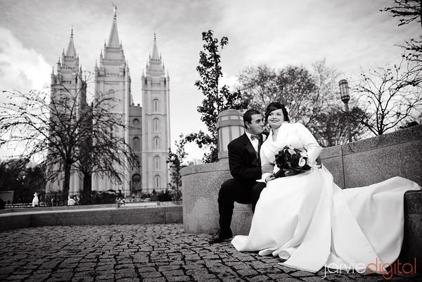 Kunze Salt Lake Temple Wedding (Highlights First)