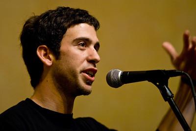 Adam Stern at Cafe de la Paz  November 28,2008