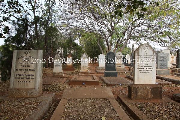 ZIMBABWE, Bulawayo. Jewish cemetery (8.2012)