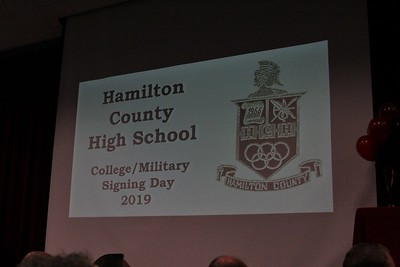 2019 HCHS College/Military Signing Day