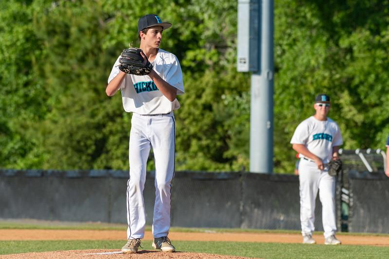 2019-05-16 Nansemond River vs Hickory Junior Varsity Baseball