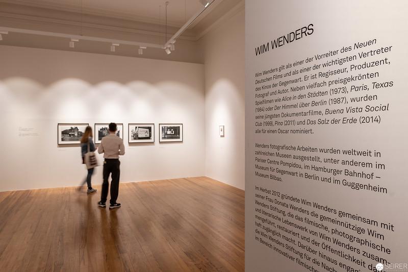 """Ausstellung """"Wim Wenders. Early Photographs 1963-1983 """" im Filmarchiv"""