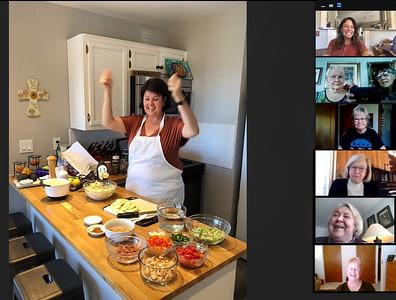 Nov 2020 Meeting - Gayle cooking class