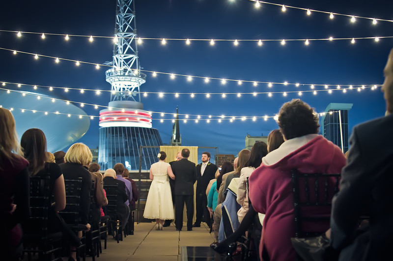 rooftop wedding at aerial nashville