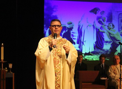 Mass with Fr. Charles Frederico, S.J. 2/15/17