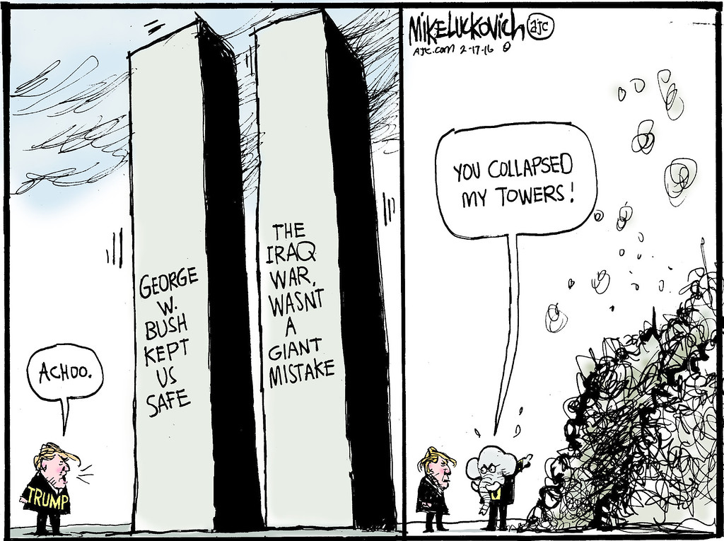 . Mike Luckovich / Atlanta Journal-Constitution