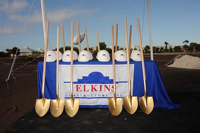 Elkin Groundbreaking