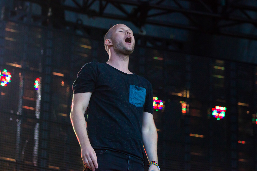 . Dada Life kept the crowd entertained with intricate visual effects as well as many inflatable props.