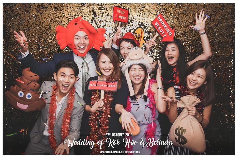 Wedding of Kok Hoe & Belinda | © www.SRSLYPhotobooth.sg