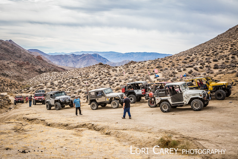 Goler Wash and Mengel Pass trail run, 2016 Panamint Valley Days hosted by Cal4Wheel