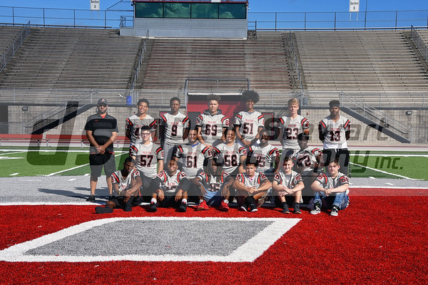 JV Football Team Photo 10.18.18