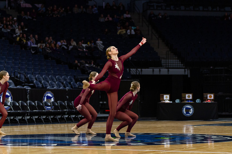 Holy Family's Olivia Sadowski '22 at 2020 MSHSL State Jazz Tournament Final - Collin Nawrocki/The Phoenix