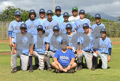 "Kailua ""vs"" Windward Hui - West Oahu Baseball 14U - Photos by Alan Kang"