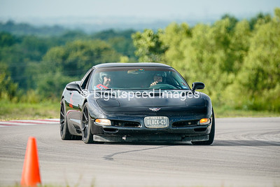 9 Black C5 Corvette