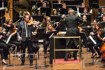 Zach DePue with the UKSO and Beethoven 7