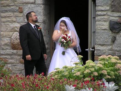 2004 09 28:  Dana Brink & Kevin, Wedding