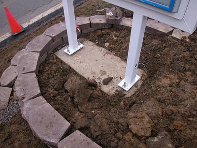 New Sign Installation 3-2005