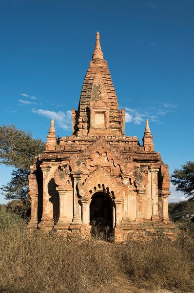 Abandoned temple in Myinkaba Area, Bagan, Burma - Myanmar