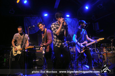 City Stereo - at The Tunnels - Aberdeen, UK - September 26, 2011