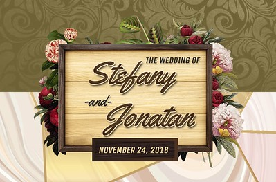 Stefany & Jonatan's Wedding!
